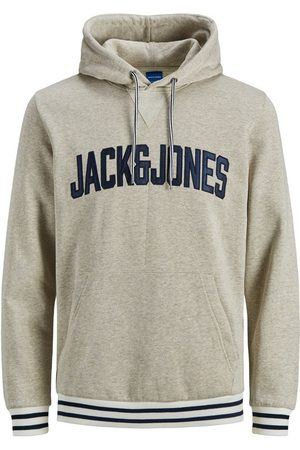 Jack & Jones Heren Sweaters - Logo Kangaroo Pocket Hoodie Heren