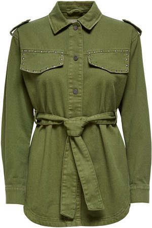 Only Utility Jas Dames Green