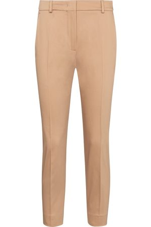 Max Mara Calcut stretch-cotton cropped pants