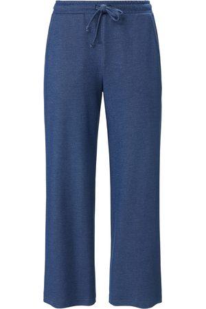 Green Cotton Dames Broeken - Enkellange broek in marlene-snit Van