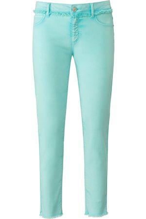 DAY.LIKE Dames Slim - Enkellange Slim Fit-jeans met riemlussen Van