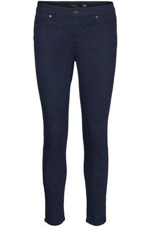 Vero Moda Regular Waist Enkel Slim Fit Jeans Dames