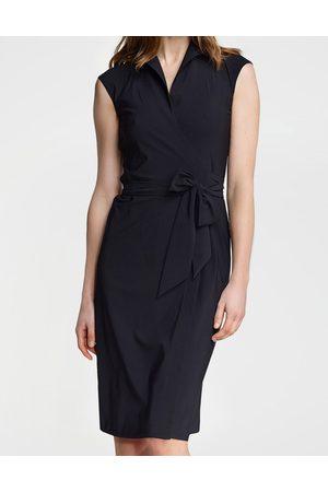 LaDress Dames Casual jurken - Kleding Jurken Casual jurken Frida Jersey lycra wikkeljurk