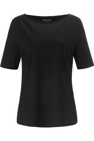 Green Cotton Dames Shirts - Shirt 100% katoen boothals Van