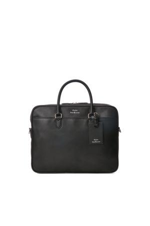 Polo Ralph Lauren Heren Laptop- & Businesstassen - Leather Briefcase Bag
