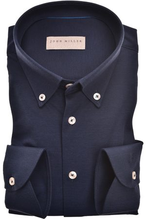 john miller Overhemd navy button down Tailored Fit