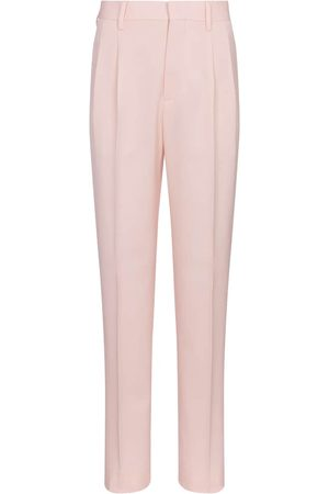 Stella McCartney Julien high-rise wool slim pants