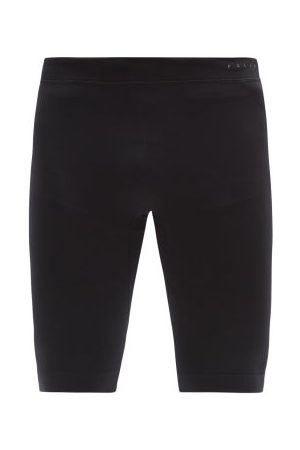 Falke Compression Technical-jersey Shorts - Mens - Black