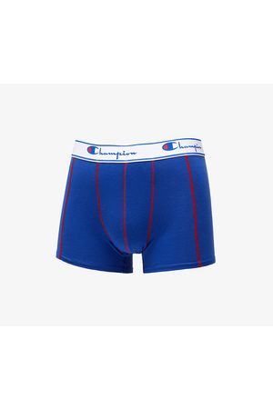 Champion 2 Pack Boxers Red/ Royal Blue