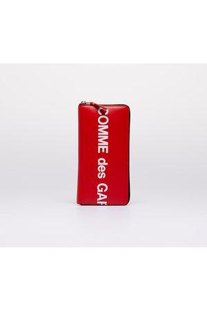 Comme des Garçons Comme des Garçons Huge Logo Wallet Red