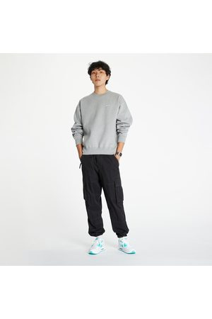 Nike Nrg SoloSwoosh Crew Fleece Dk Grey Heather/ White