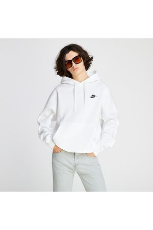 Nike Sportswear Club BB Hoodie White/ White/ Black