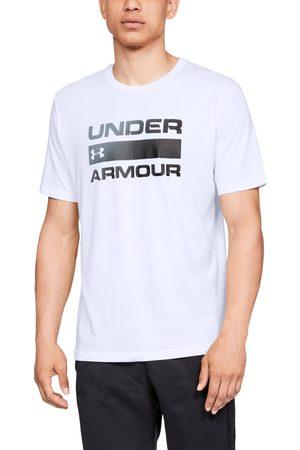 Under Armour Team Issue Wordmark Shortsleeve Tee White/ Black