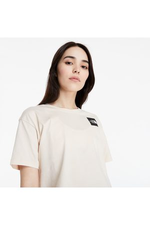 The North Face Cropped Fine Tee Pink Tint