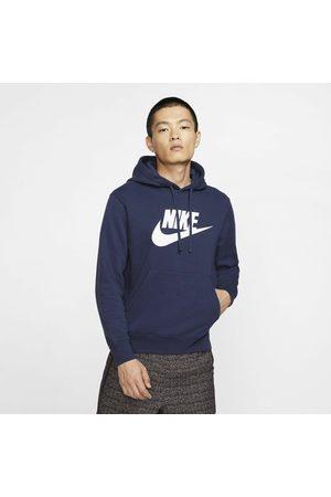 Nike Sportswear Club Pullover BB Gx Hoodie Midnight Navy/ Midnight Navy/ White