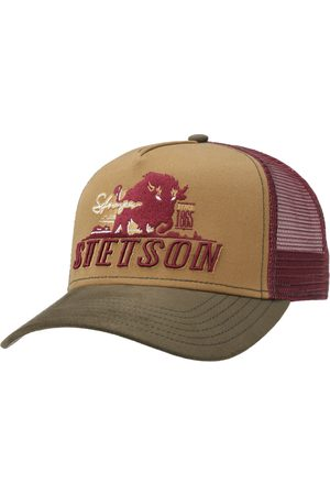 Stetson Heren Petten - Trucker pet Stronger Bison by