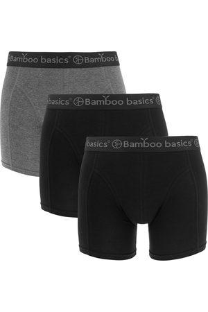 Bamboo Basics Boxershorts rico 3-pack zwart && grijs