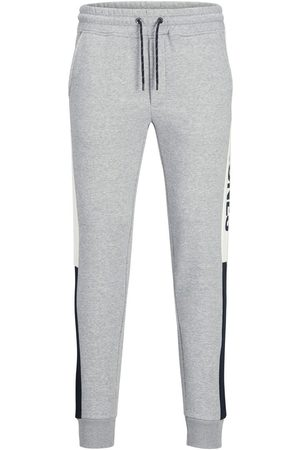Jack & Jones Heren Joggingbroeken - Will Logo Blocking Sweatpants Heren