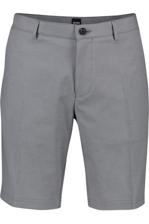 HUGO BOSS Heren Shorts - Korte broek grijs Slice