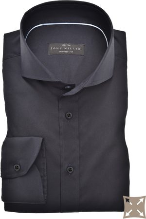john miller Overhemd Tailored Fit donkerblauw