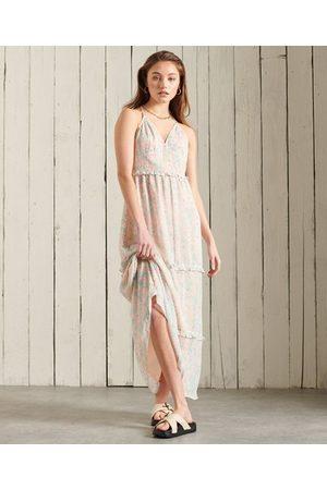 Superdry Dames Lange jurken - Margaux maxi-jurk