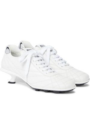 Miu Miu Leather sneaker pumps