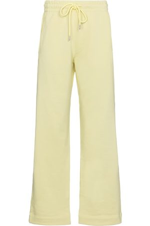DRIES VAN NOTEN High-rise cotton sweatpants