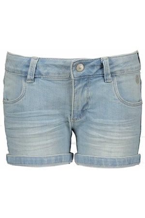 Moodstreet Meisjes Korte Broek - Maat 116 - - Jeans