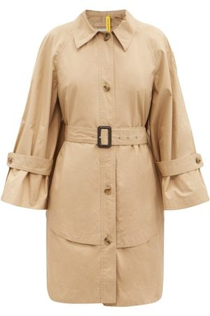 1 MONCLER JW ANDERSON Dungeness Layered-hem Cotton Trench Coat - Womens
