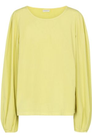 DRIES VAN NOTEN Cotton poplin-blend top