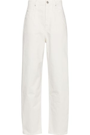 Isabel Marant Corfy high-rise straight jeans