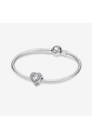 PANDORA Dames Armbanden - Sprankelend Hart Cadeauset, Cubic Zirconia, , B87000