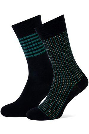 Marcmarcs Carlo cotton 2-pack zwart & groen