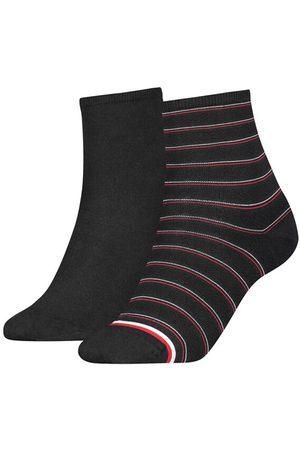 Tommy Hilfiger Dames short sock 2-pack preppy
