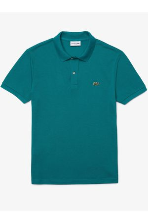 Lacoste Heren Poloshirts - Polo petrol slim fit PH4012/F5T