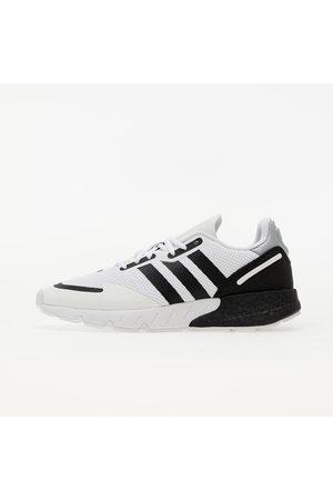 adidas Heren Schoenen - Adidas ZX 1K Boost Ftw White/ Core Black/ Halo Silver