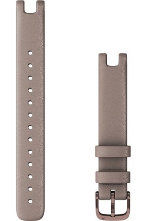 Garmin Dames Horloges - Smartwatches Lily Leather Watch Strap 14 mm