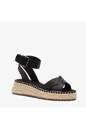 Blue Box Dames espadrilles met sleehak