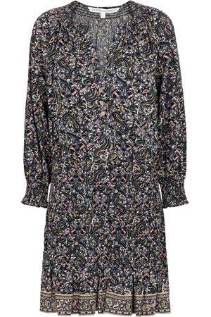 VERONICA BEARD Karlina paisley cotton minidress