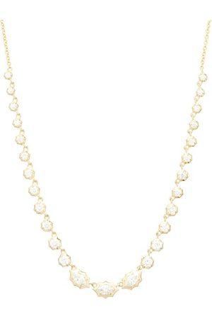 Jade Trau Dames Kettingen - Maverick Riviera Diamond & 18kt Gold Necklace - Womens - Gold