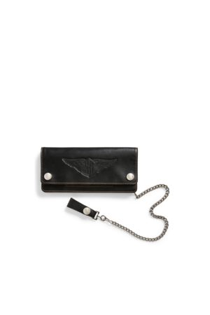 RRL Heren Portemonnees - Leather Chain Wallet