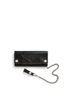 RRL Heren Portemonnees - Leather Chain Wallet