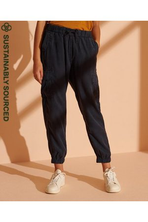 Superdry Dames Cargo's - Cargo joggingbroek van Tencel