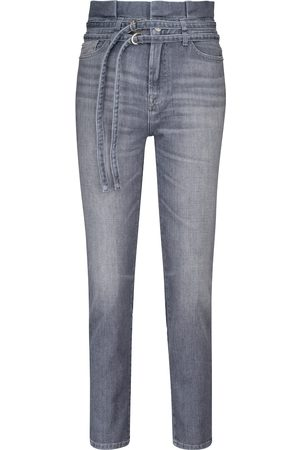 7 for all Mankind Dames Slim - Paperbag slim jeans