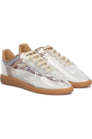 Maison Margiela Replica PVC and leather sneakers