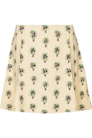 Chloé Dames Korte & Mini rokken - Floral crêpe miniskirt