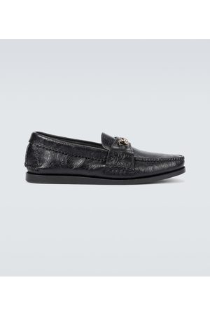 YUKETEN Bit leather loafers
