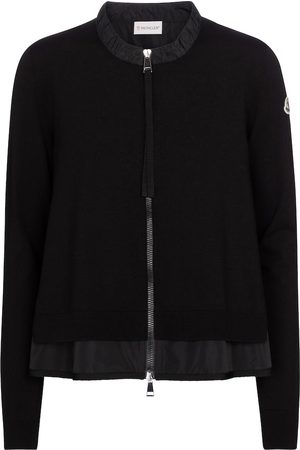 Moncler Technical-trimmed cardigan