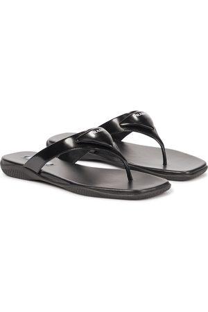 Prada Leather thong sandals