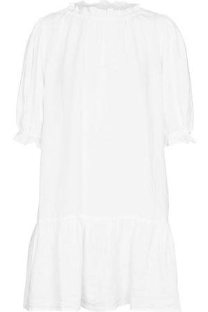 Velvet Dames Jurken - Bernice linen minidress